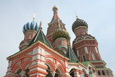 Free St Basil Church Royalty Free Stock Image - 18977316