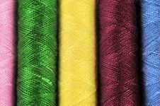 Free Cotton Thread Background Stock Photography - 18978122