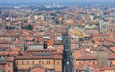 Bologna Cityscape Royalty Free Stock Photography