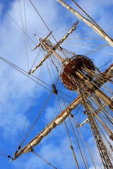 Free Rigging Frigate Stock Images - 18979244
