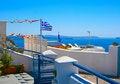 Free Beautiful Terrace In Santorini, Oia Stock Photos - 18984173
