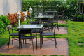 Free Table And Chairs At Park Royalty Free Stock Image - 18988456