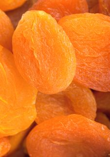 Dried Apricots Stock Photography