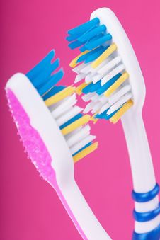 Free Toothbrushes Royalty Free Stock Image - 18982796