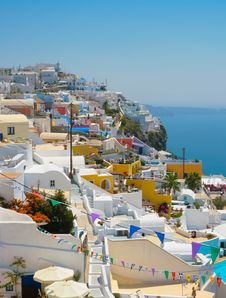 Free Amazing View Of Oia In Santorini Stock Photo - 18984050