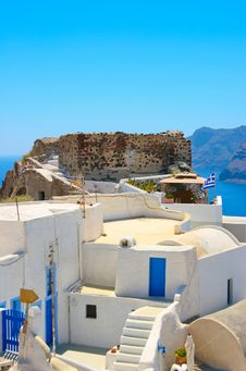 Free Traditional Architecture In Santorini Royalty Free Stock Image - 18984216