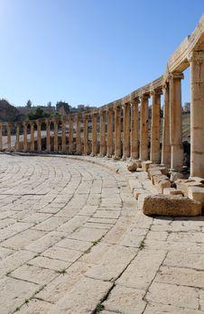 Free Ruins Of Greco-Roman City Gerasa. Jordan Stock Images - 18984414