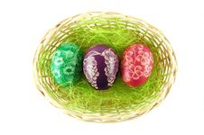 Free Easter Eggs Royalty Free Stock Image - 18984656