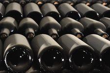 Free Bottles Of Wine Royalty Free Stock Image - 18984796