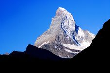 Free The Matterhorn, Illuminated At Dawn Stock Images - 18985404