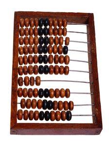 Free Old Abacus (retro). Royalty Free Stock Photos - 18985478