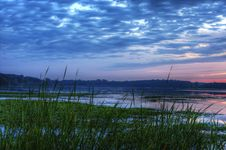 Free Morning Sunrise On A Lake Stock Image - 18986751