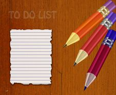 Free Abstract To Do List Stock Image - 18988301