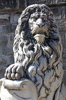 Free Peles Lion Stock Image - 18990321