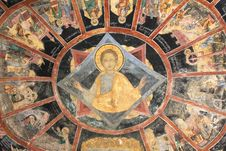 Free Sinaia Fresco Royalty Free Stock Photo - 18990455