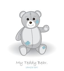 Free Teddy Bear Royalty Free Stock Photography - 18990807