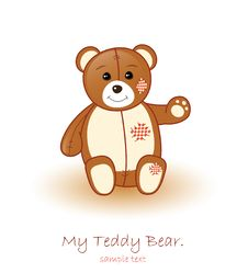 Free Cute Brown Teddy Bear Stock Photo - 18990810