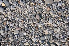 Free Beach Pebbles Texture Stock Photography - 18991032