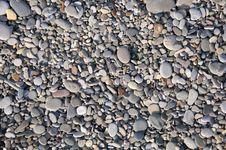 Beach Pebbles Texture Stock Photography