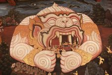 Free Wat Phra Kaew Bangkok Thailand Royalty Free Stock Image - 18991056