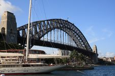 Harbor Bridge In Sydney Royalty Free Stock Photos