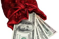 Free Money As The Best Gift Stock Photography - 18991232