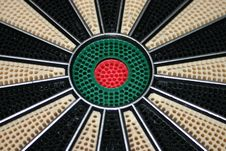 Free Bulls Eye Of Dart Board Royalty Free Stock Photography - 190017