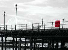 Free Historic English Pier Royalty Free Stock Photo - 191115
