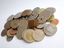 Free Coins Stock Photography - 191552
