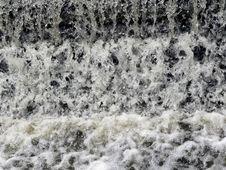 Fast Rushing Water Pattern Stock Photo