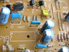Free Electronic Circuit Board Royalty Free Stock Images - 193499