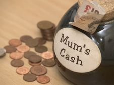 Mums Cash Stock Photos