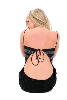 Free Beautiful Teen Girl In Backless Dress Stock Photo - 194090