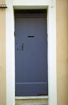 Free Door, France 25 Royalty Free Stock Photo - 194255