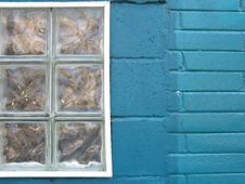 Free Colorful City - Turquoise Window Royalty Free Stock Photos - 195498