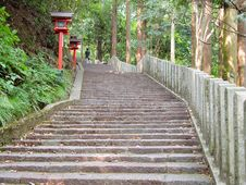 Free Stairs To The Temple Royalty Free Stock Photo - 195555