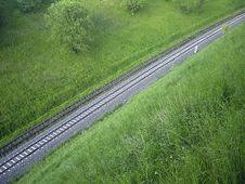 Free View On A Track Royalty Free Stock Images - 197159