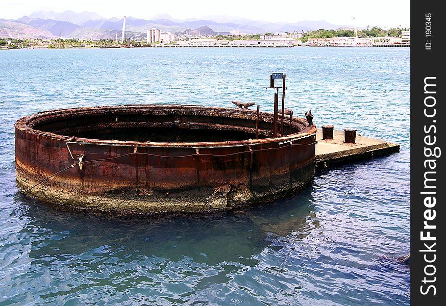 USS Arizona Wreckage (External)