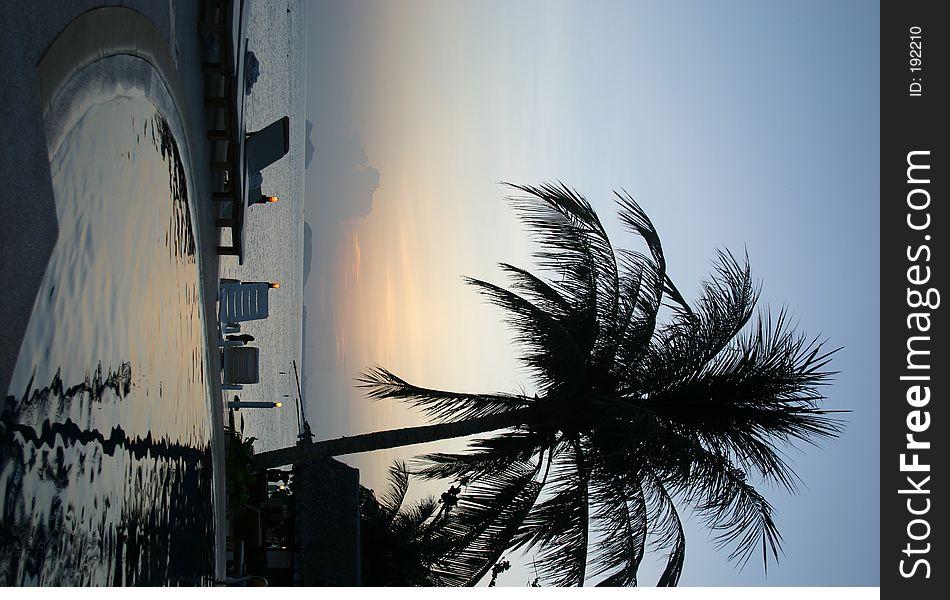 Ko Pangnan pool resort