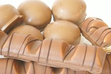 Free Different Chocolate Candies Close-up Stock Image - 1900091