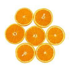Free Orange Slices Royalty Free Stock Photography - 1900727