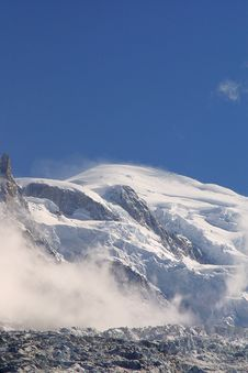 Free Summit Mont Blanc - Alpine View Stock Image - 1902821