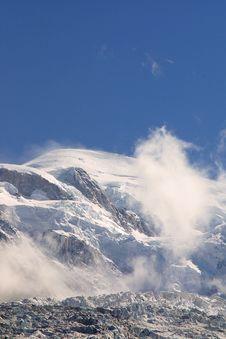 Free Summit Mont Blanc - Alpine View Royalty Free Stock Photo - 1902825