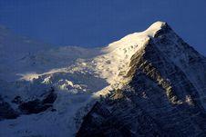 Free Summit - Alpine View Royalty Free Stock Photos - 1902868