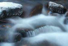 Free Winter Creek Royalty Free Stock Photography - 1902927