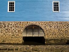 Free Grist Mill Wall Royalty Free Stock Image - 1904116