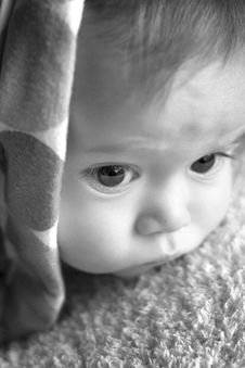 Free Blanket Baby Stock Photography - 1904312