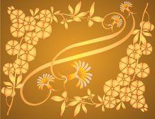 Free Yellow Flourish Stock Images - 1904634