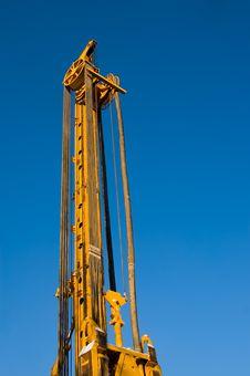 Building Machine Royalty Free Stock Photo