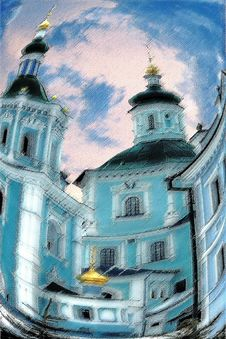 Free St. Voskresensky Cathedral Royalty Free Stock Photography - 1906067